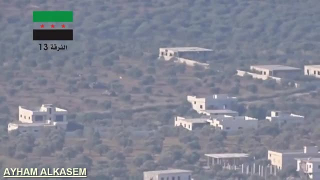 Watch and share Syrian Tank Brews Up After A Direct ATGM Hit [gfy] (reddit) GIFs by forte3 on Gfycat