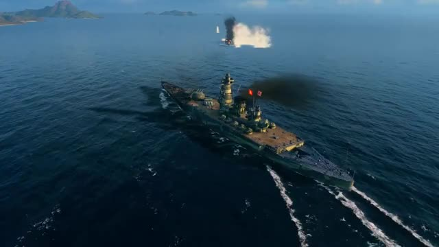 Watch and share World Of Warships GIFs and Izumo GIFs on Gfycat