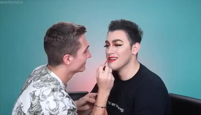 Watch JEFFREE STAR'S BOYFRIEND DOES MY MAKEUP! | Manny MUA GIF on Gfycat. Discover more related GIFs on Gfycat