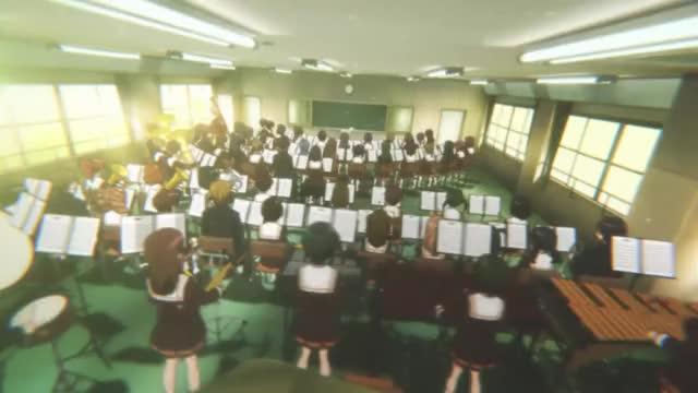 Watch this GIF on Gfycat. Discover more Animesuggest, anime, hibikeeuphonium GIFs on Gfycat