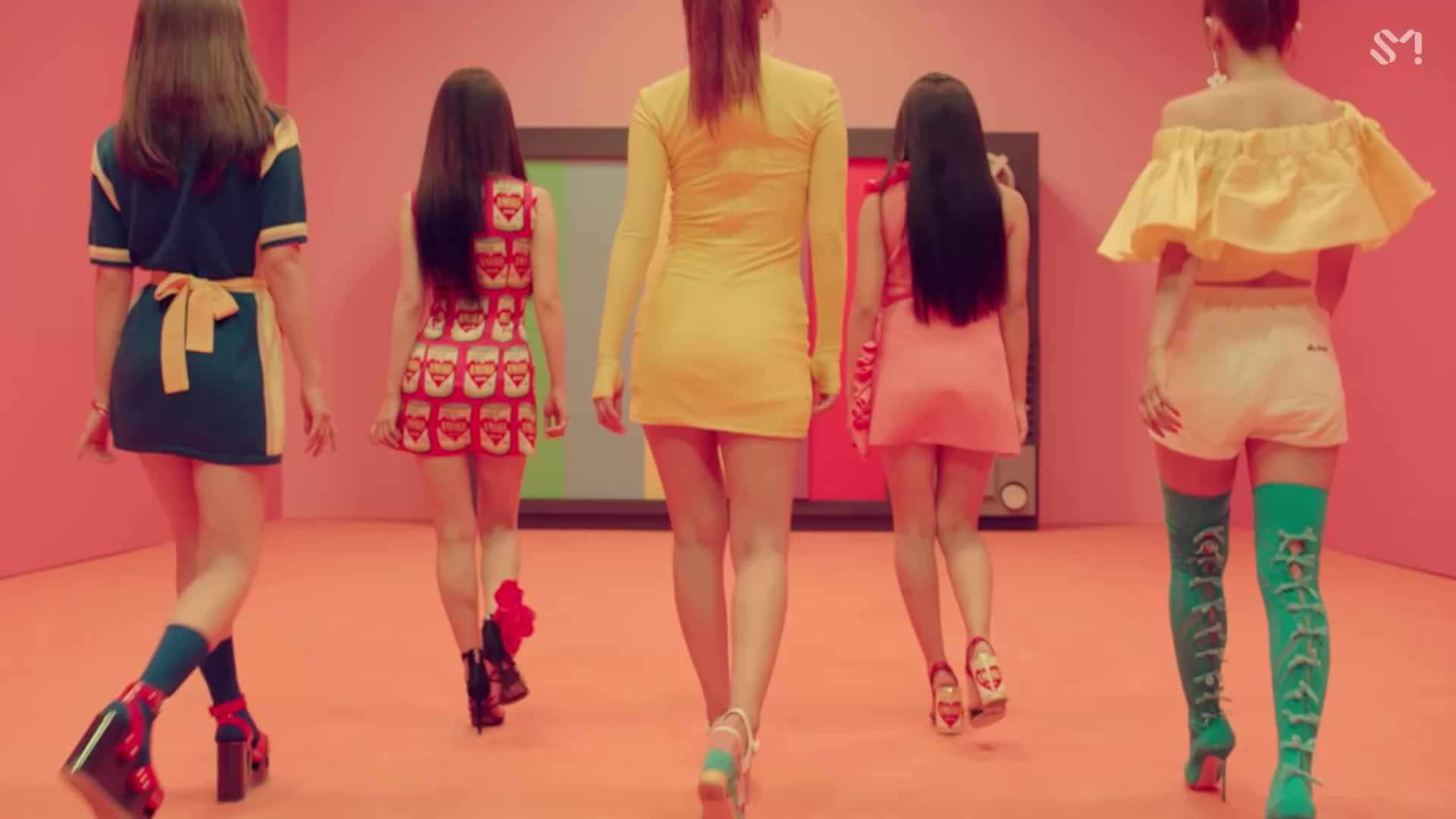 Red Velvet Power Up Mv Gif By My Gif Factory Forever9diadem