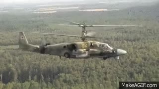Watch and share DEADLY FAST Russian Military Ka 52 Alligator Attack Helicopter GIFs on Gfycat