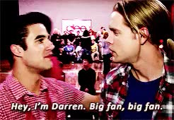 Watch dare  GIF on Gfycat. Discover more chord overstreet, darren criss, overcriss, sorry slash not sorry GIFs on Gfycat
