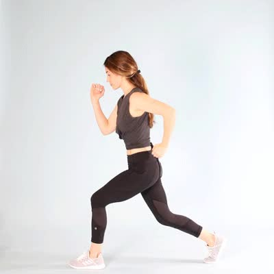 Watch and share 400x400 Butt Cellulite--Exercises Jump Lunge GIFs by Healthline on Gfycat