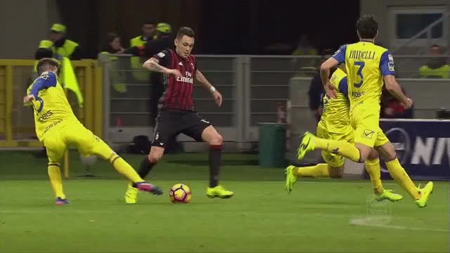 Watch and share Penalty For Milan Vs Chievo GIFs on Gfycat