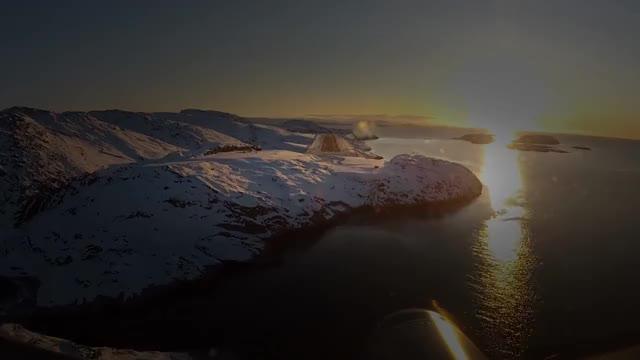 Watch Danish C-130 landing at Maniitsoq, Greenland GIF by @snokng on Gfycat. Discover more c-130 hercules, greenland, militarygfys GIFs on Gfycat