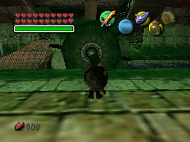Watch and share Zelda Majora's Mask Clock Tower Inside Gif By Portal2player GIFs on Gfycat