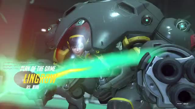 Watch and share Overwatch GIFs by lingrow on Gfycat