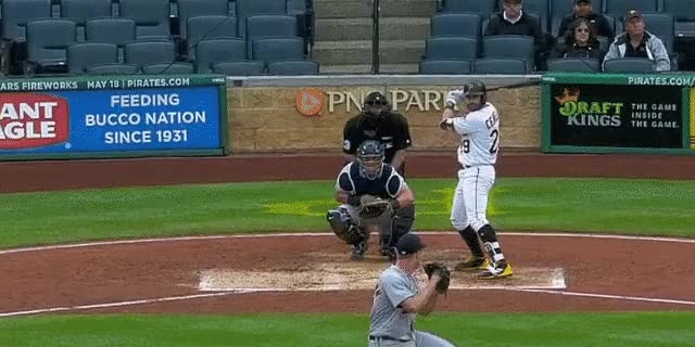 Watch and share Cervelli Hr GIFs by DK Pittsburgh Sports on Gfycat