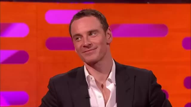 Watch and share Michael Fassbender GIFs and Graham Norton GIFs on Gfycat