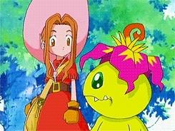 digimon, digimon adventure, mimi, palmon, Digimon Forever GIFs