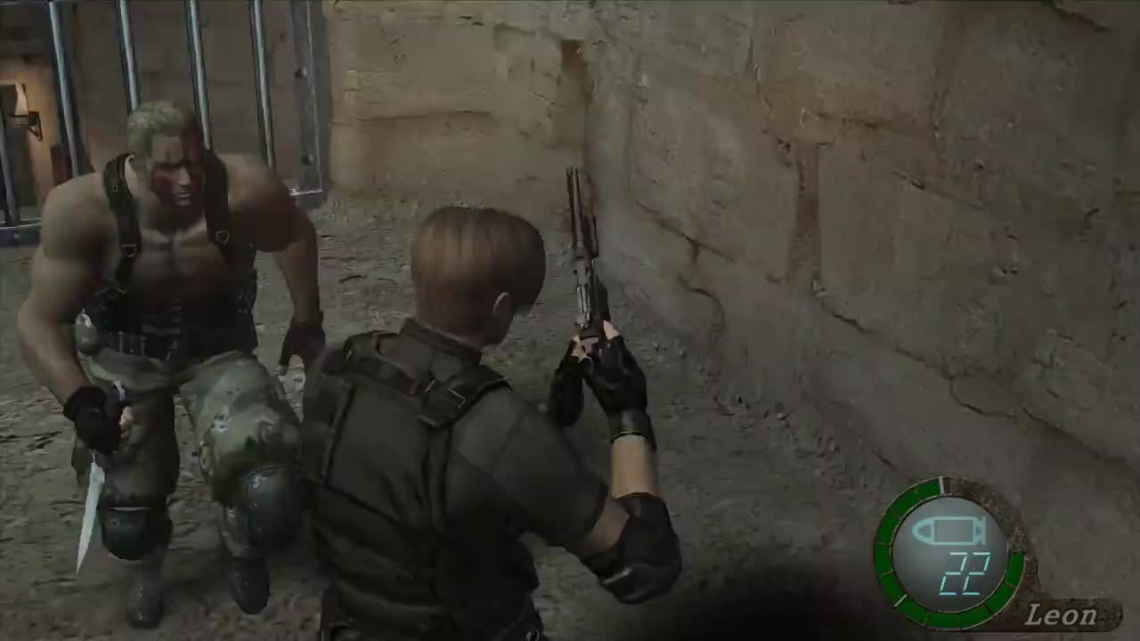 Resident Evil 4 Ultimate HD Edition Krauser Boss Fight QTE