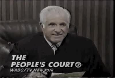 Watch and share Pour One Out For Judge Wapner | TexAgs GIFs on Gfycat