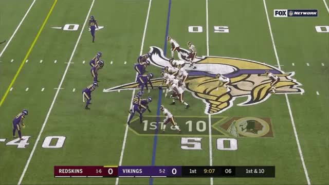 Watch and share Washington Redskins GIFs and Minnesota Vikings GIFs by Eric Thompson on Gfycat
