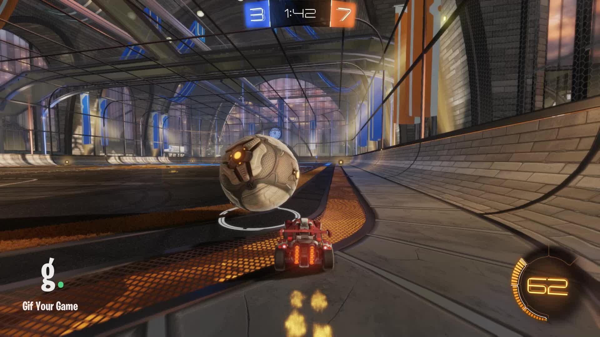 Gif Your Game, GifYourGame, Goal, Goldfish, Rocket League, RocketLeague, Goal 11: Goldfish GIFs