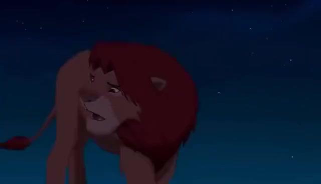 Watch and share The Lion King Simba Meets Rafiki GIFs on Gfycat