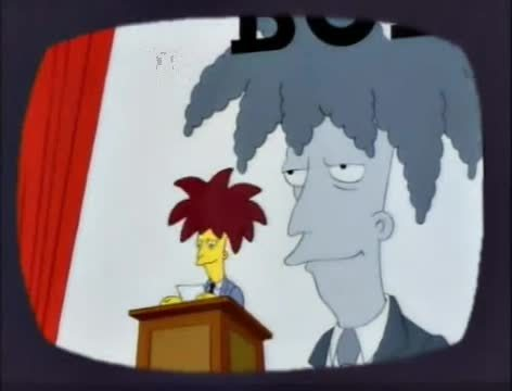 analogygifs, imagesofusa, Sideshow Bob Election Victory Laugh GIFs