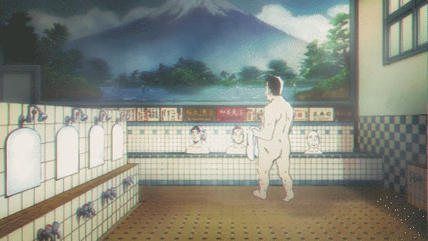 animegifs, onsen [Saint☆Oniisan (Movie)] (reddit) GIFs