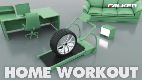 Watch and share Home Workout GIFs by Falken Tyres Australia on Gfycat