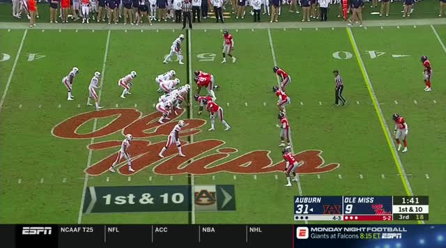 Watch NCAAF.2018.Week08.Auburn.at.Ole.Miss.TYT GIF on Gfycat. Discover more football GIFs on Gfycat