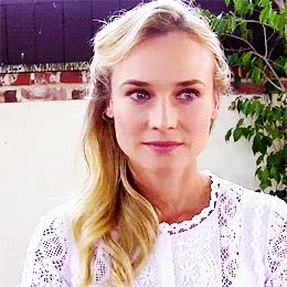 Watch and share Diane Kruger GIFs and Smiling GIFs on Gfycat