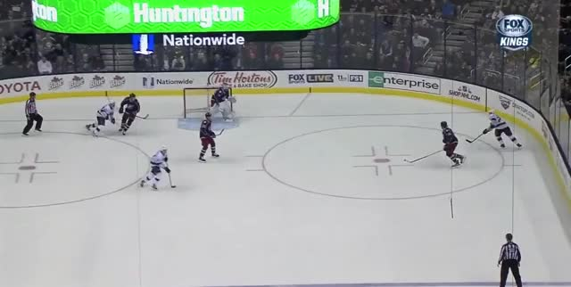Watch and share Bluejackets GIFs and Hockey GIFs by ericburger on Gfycat