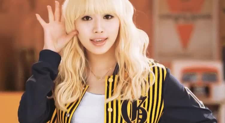 Yura (Girl's Day) circa Twinkle Twinkle : kpics GIFs