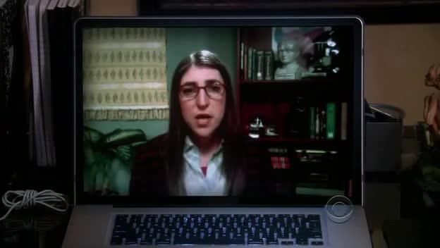 TBBT - Amy Massages Sheldon GIFs