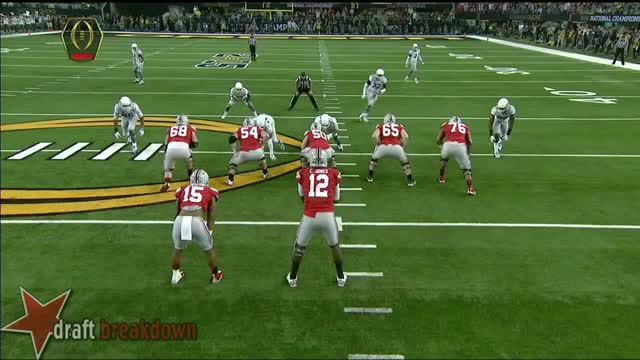 Watch and share Cardale Jones Pocket Movement GIFs on Gfycat