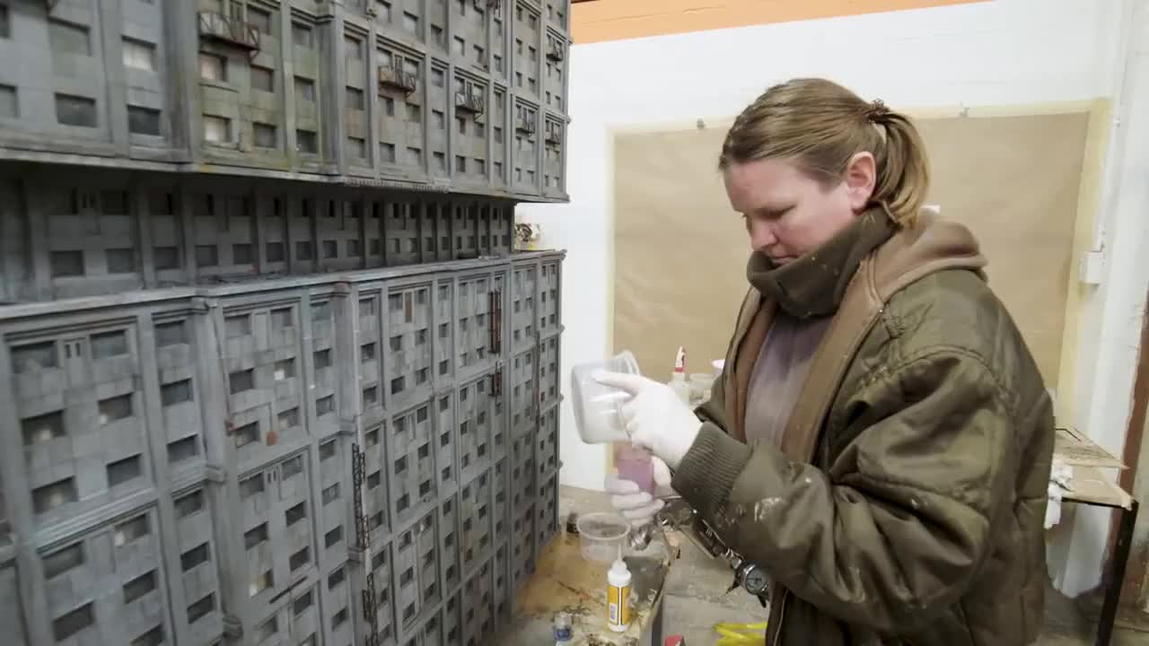 filmmaking, miniatures, weta, Weta Workshop - Blade Runner 2049 Miniatures GIFs