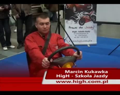 Watch and share Wystrzał Poduszki Powietrznej - AIRBAG - HigH Szkoła Jazdy GIFs on Gfycat