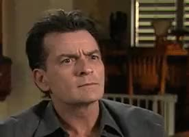 Watch and share Charlie Sheen GIFs on Gfycat