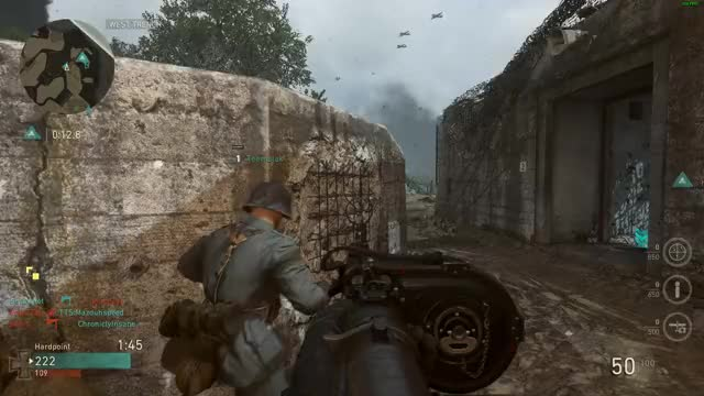 Watch and share Cod GIFs and Ww2 GIFs by Red Owl on Gfycat