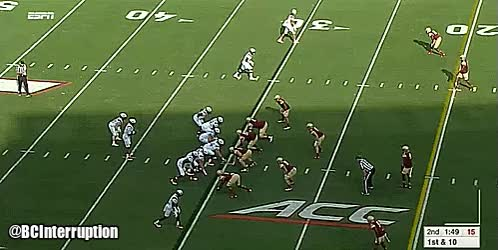 Watch VT Touchdown GIF by @salzano14 on Gfycat. Discover more related GIFs on Gfycat