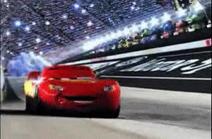 Watch and share Lightning Mcqueen GIFs on Gfycat