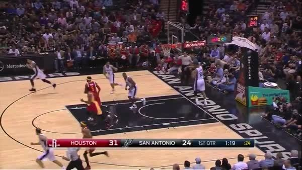 nbaspurs, Manu beats the shot clock. (reddit) GIFs