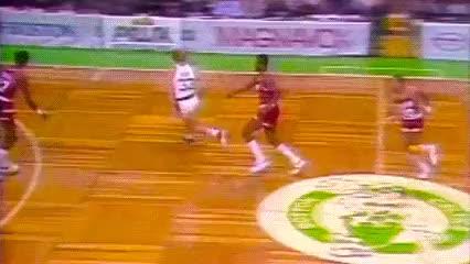 Watch and share Larry Bird, Boston Celtics GIFs by Off-Hand on Gfycat