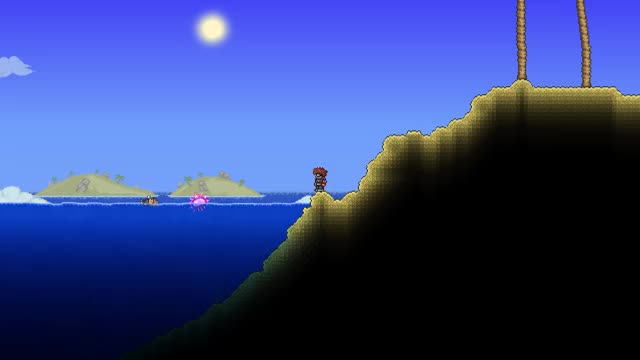 Watch and share Is The Angler Dead. No, He's Just Lazy - Terraria GIFs on Gfycat