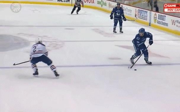 edmontonoilers, hockey, Talbot hurt GIFs