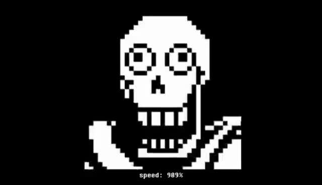 Watch and share BONETROUSLE: EXCEPT IT KEEPS GETTING FASTER (Undertale) GIFs on Gfycat