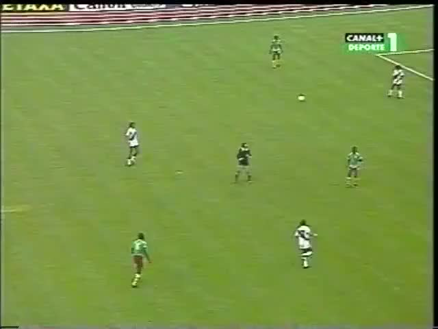 Watch CAMEROON - MILLA - Disallowed goal vs Peru, 1982 GIF on Gfycat. Discover more related GIFs on Gfycat