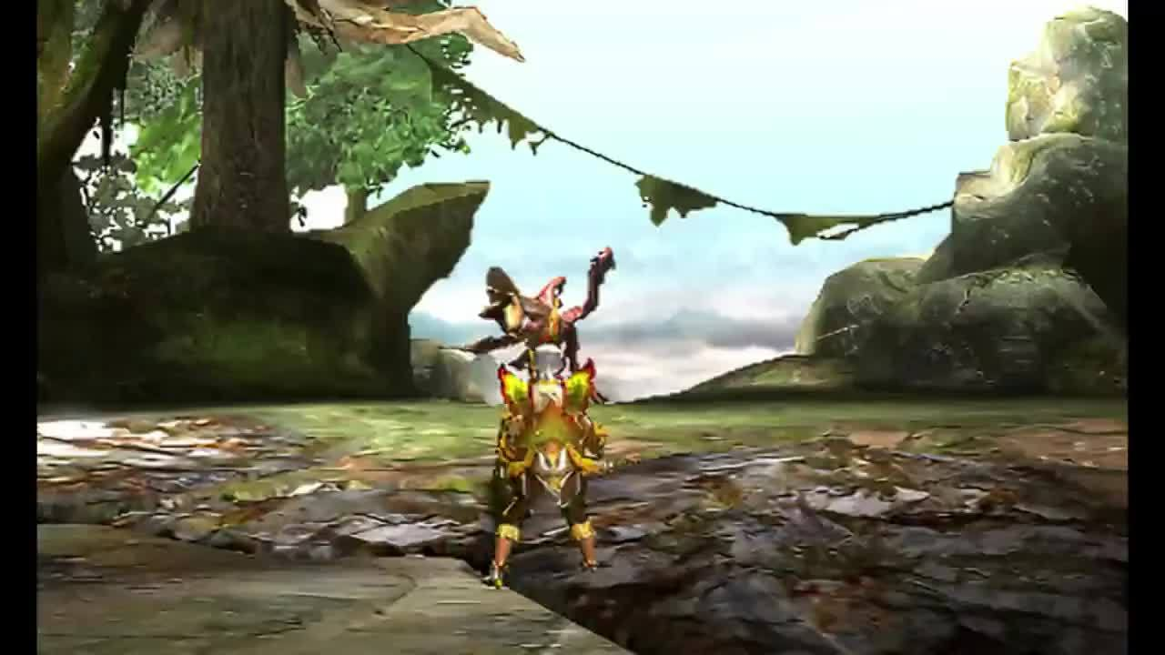 monsterhunter, ChargeUp GS GIFs