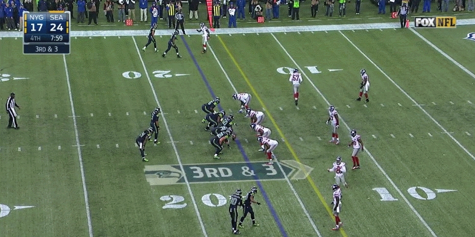seahawksgifs, Marshawn Lynch up the middle for 16 yards, touchdown (reddit) GIFs