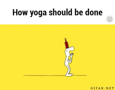 Watch and share Funnygifs GIFs and Yoga GIFs on Gfycat