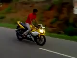 Watch bike accident GIF on Gfycat. Discover more related GIFs on Gfycat
