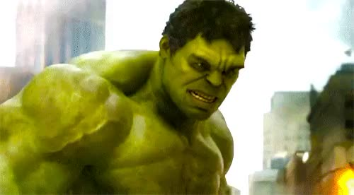 Watch and share Hulk GIFs on Gfycat