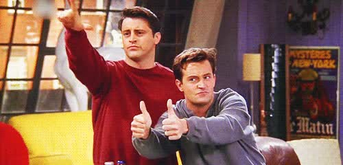 Watch and share Matthew Perry GIFs and Matt Leblanc GIFs on Gfycat