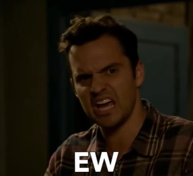 GIF Brewery, disgusted, ew, funny, new girl, nick, Disgusted Nick New Girl GIFs