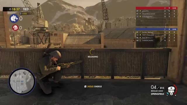 Watch and share Sniper Elite 4 GIFs and Gaming GIFs by Archer Sterlng on Gfycat