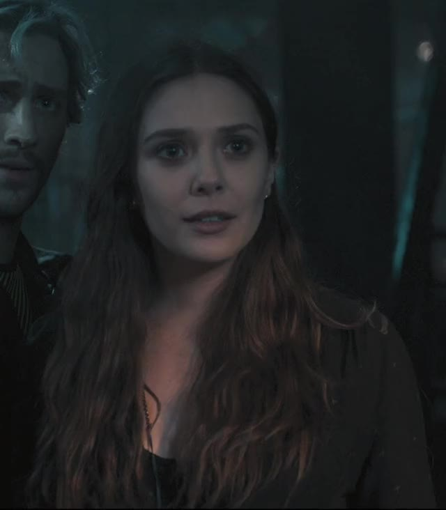 Watch and share Elizabeth Olsen GIFs and Wanda Maximoff GIFs on Gfycat